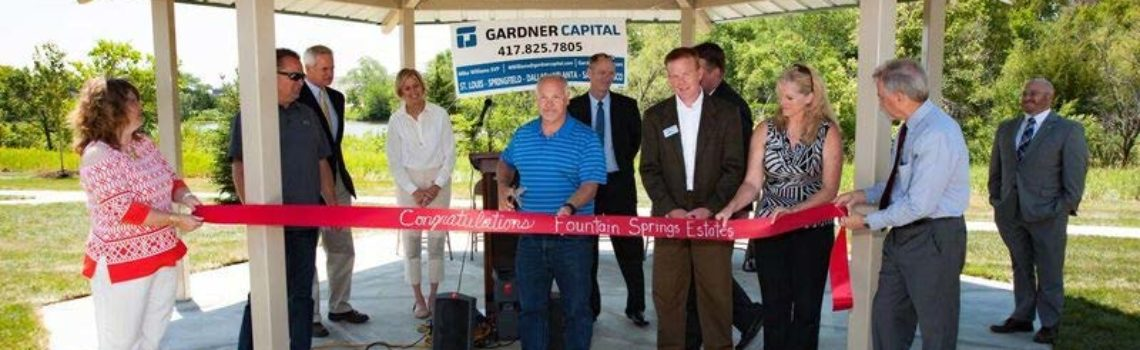 Fountain Springs Estates Ribbon Cutting Ceremony